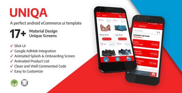 UNIQA E-Commerce: An Android Application Template  for Your Business