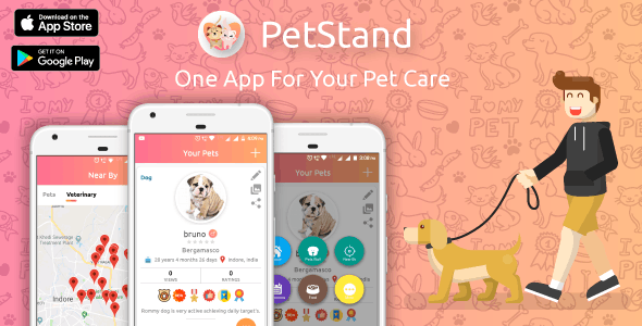 PET Stand - PET App For PET Lovers