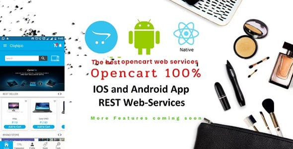 JSON web services Opencart Native IOS and android apps