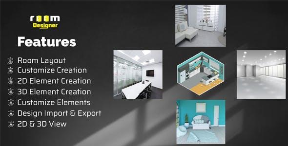 roomDesigner - Design Your Room in 3D