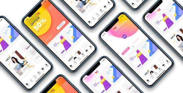 Ionic 4 WooCommerce marketplace mobile app - Dokan Multivendor