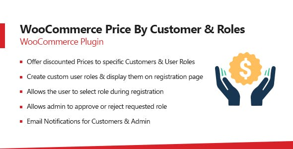 Woocommerce Price by Customer and User Roles
