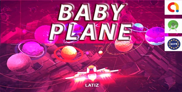 BABY PLANE (android studio+admob+GDPR)Game For Kids - Ready For Publish - Android