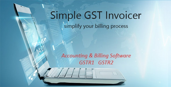 Simple GST Invoicer - CodeCanyon Item for Sale