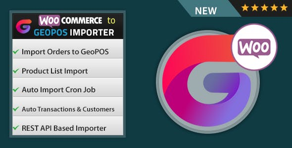 WooCommerce to Geo POS Importer