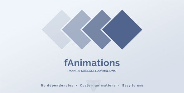 fAnimations - Pure JS Onscroll Animations
