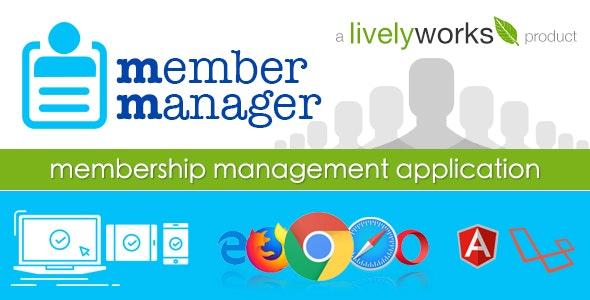 MemberManager - Simple Membership Management Application - CodeCanyon Item for Sale