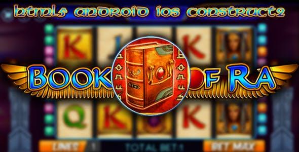Book of Ra - slot machine html5, construct 2