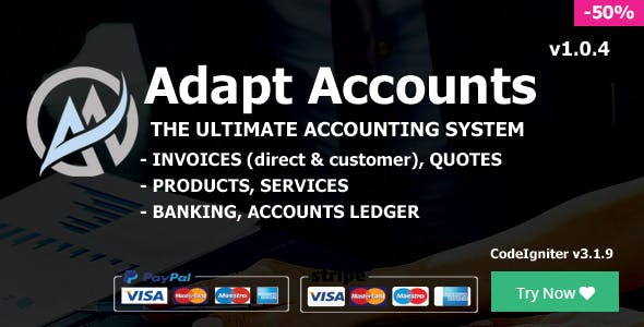 Adapt Accounts - Ultimate Accounting System