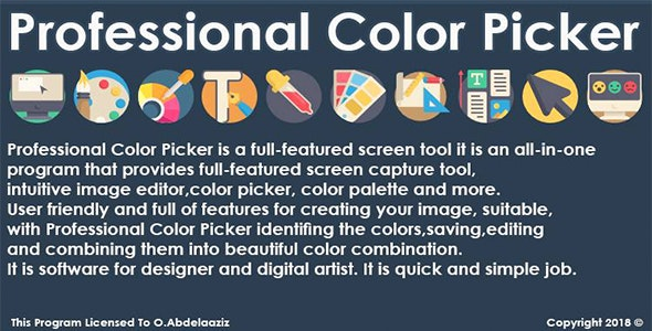 Professional Color Picker By VB.NET