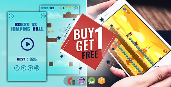 Buy 1 Get 1 Free - Android + Buildbox