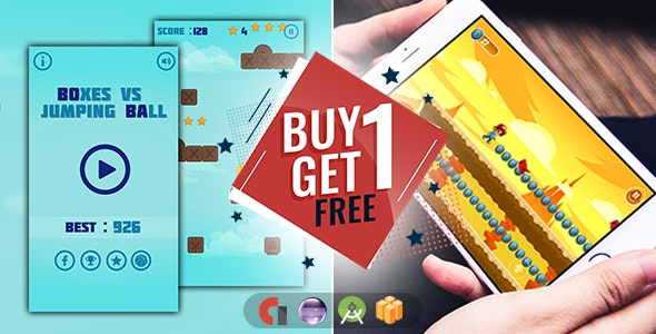 Buy 1 Get 1 Free - Android + Buildbox - CodeCanyon Item for Sale