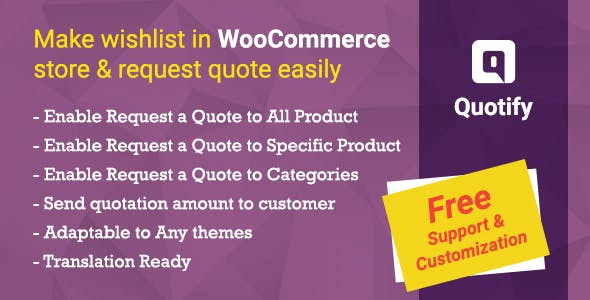 Quotify - WooCommerce Request a Quote