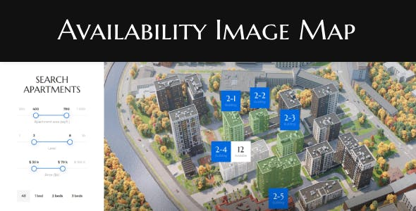 Availability Image Map - WordPress Plugin