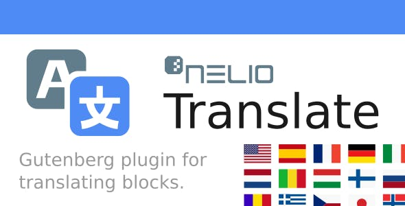 Nelio Translate for WordPress Block Editor (Gutenberg)