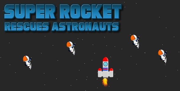 Super Rocket Rescue Astronauts