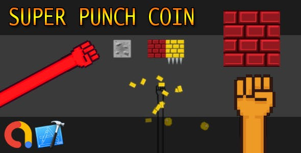 Super one punch coins - iOS Xcode 10 + Admob