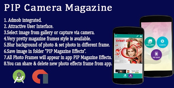 PIP Magazine Cover Android App by karma_infotech | CodeCanyon
