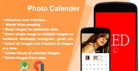Photo Calendar - CodeCanyon Item for Sale