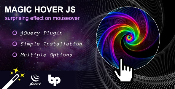 Magic Hover JS - CodeCanyon Item for Sale
