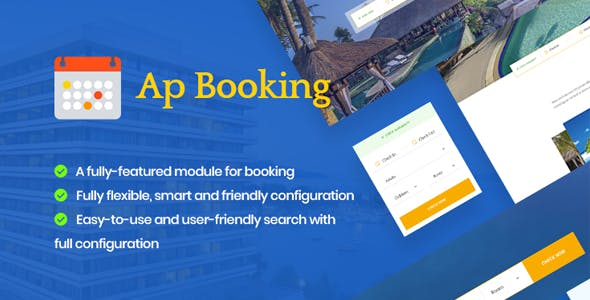 Ap Booking Prestashop Module  Hotel | Resort and Spa services