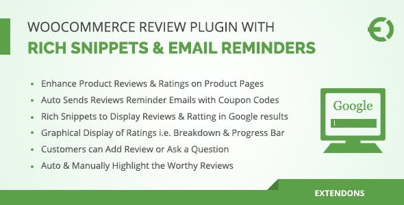 Advanced WooCommerce Product Reviews Plugin with Rich Snippets