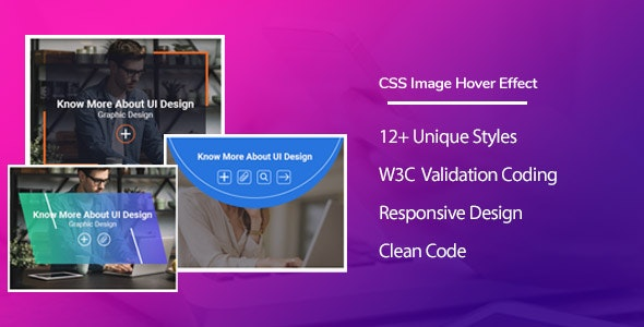 HoverTend -  CSS3 Image Hover Effects - CodeCanyon Item for Sale
