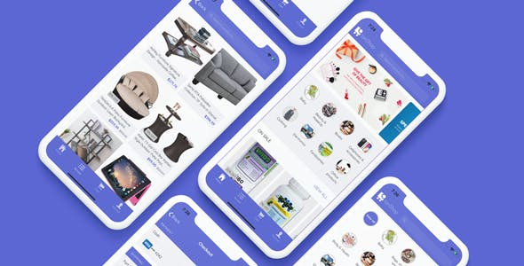 IonShop 3.0 - Ionic 5 Template + Admin Portal for e-commerce based apps