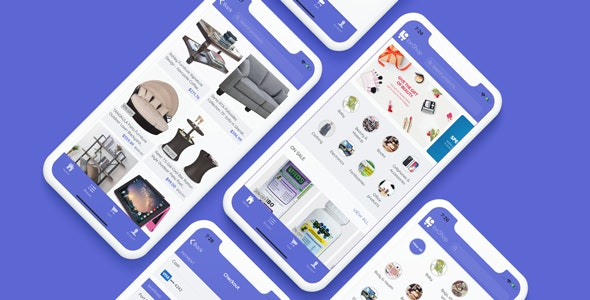 IonShop 2 - Ionic 4 Template + Admin Portal for e-commerce based apps - CodeCanyon Item for Sale