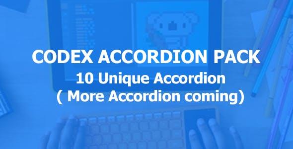Codex Accordion Pack