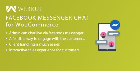 Facebook Messenger Chat for WooCommerce