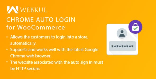 Chrome Auto Login for WooCommerce