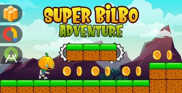 Super Bilbo Adventure Template Buildbox + Android + Ads Admob