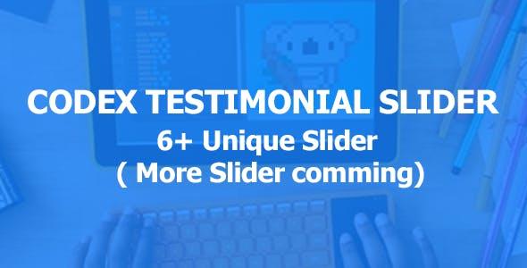 Codex Testimonial Pack