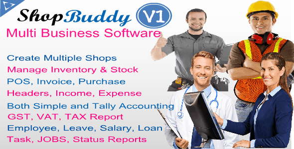 ShopBuddy - Multi Business Shop Manager - CodeCanyon Item for Sale