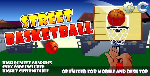 Street Baskeball - (C2, C3, HTML5) Game.