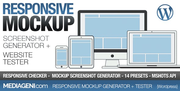 Responsive Website Tester & Mockup Screenshot Generator