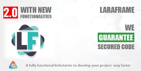 Laraframe - Laravel Kickstarter 2.0.1