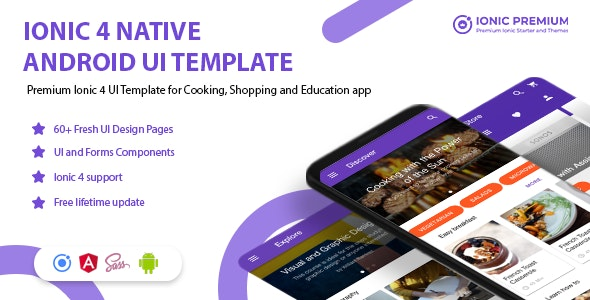 Ionpedia - Ionic 4 Native Android UI Templates - CodeCanyon Item for Sale