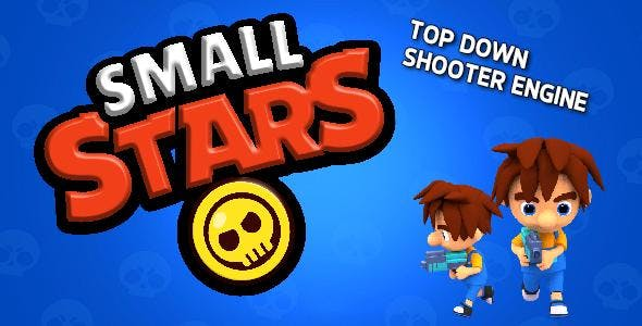 Small Stars Top Down Shooter with Online Multiplayer