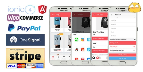 IonicWooStore-ionic 4 App for WooCommerce - CodeCanyon Item for Sale