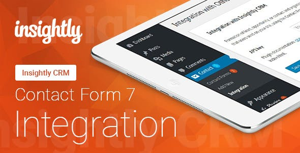 Contact Form 7 - Insightly CRM - Integration
