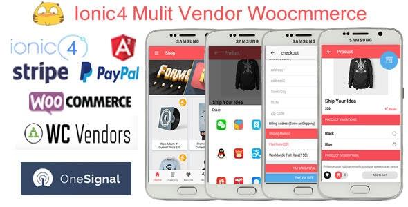 IonicWooMultiVendorStore - Ionic4 Multi Vendor Woocommerce App - CodeCanyon Item for Sale