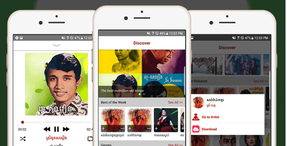 Samneang Music Android Streaming - Java - CodeCanyon Item for Sale