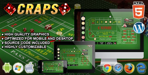 Craps - HTML5 Casino Game