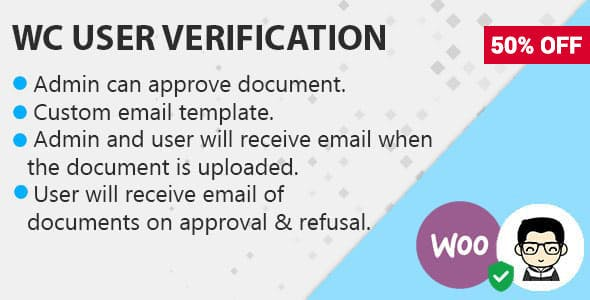 WooCommerce Customer Documents Verification On Order