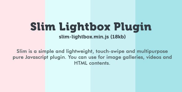 Slim Lightbox Plugin