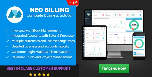 Neo Billing - Accounting, Invoicing And CRM Software by