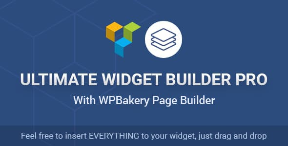 Ultimate Widget Builder Pro with WPBakery Page Builder