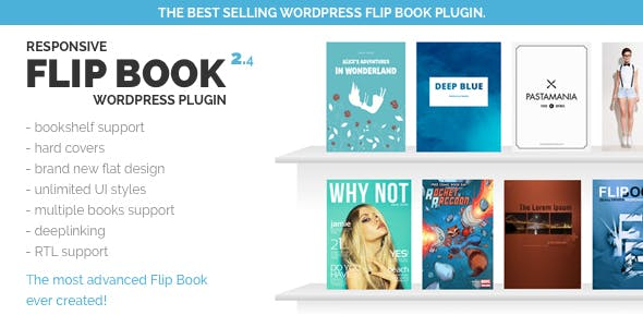 Responsive FlipBook Plugin        Nulled
